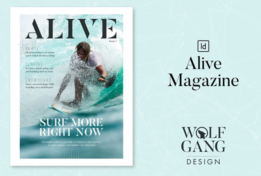 Alive Magazine Template