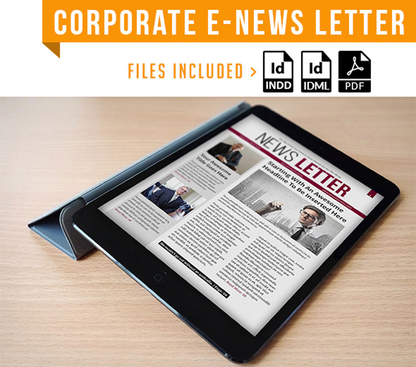 Corporate E Newsletter