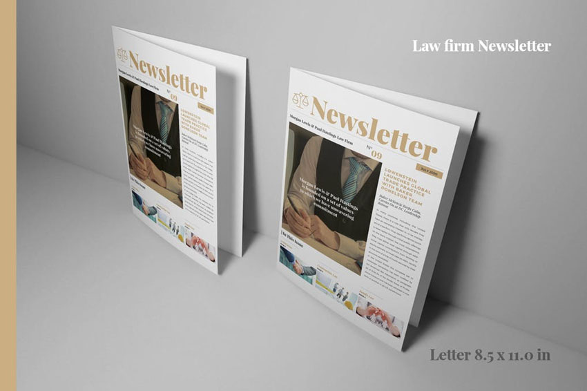 Law Firm Newsletter