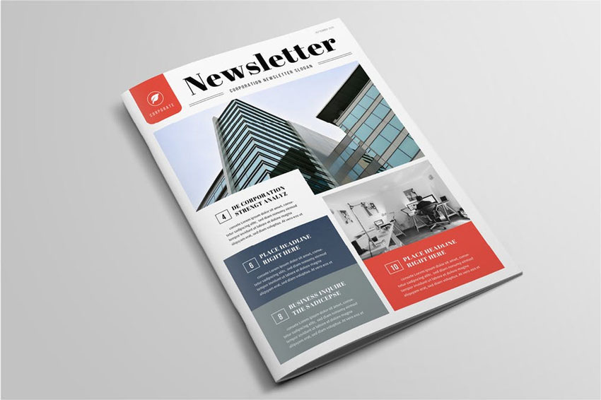 33 Best Indesign Newsletter Templates New For 2019tuts All