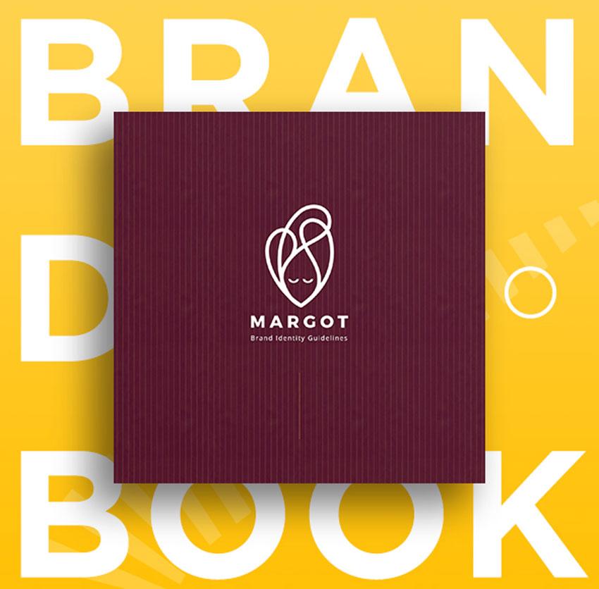 Square Brand Book Template