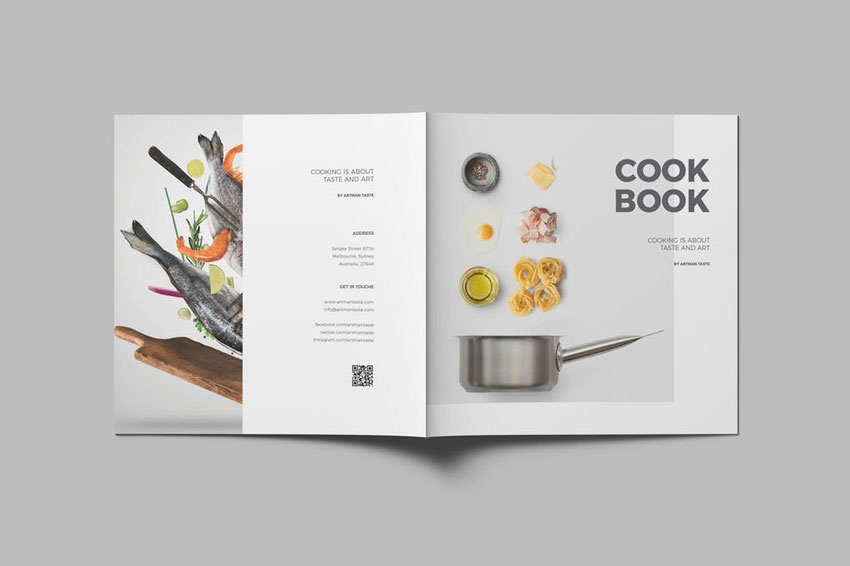 8 best images of indesign cookbook template cookbook.html