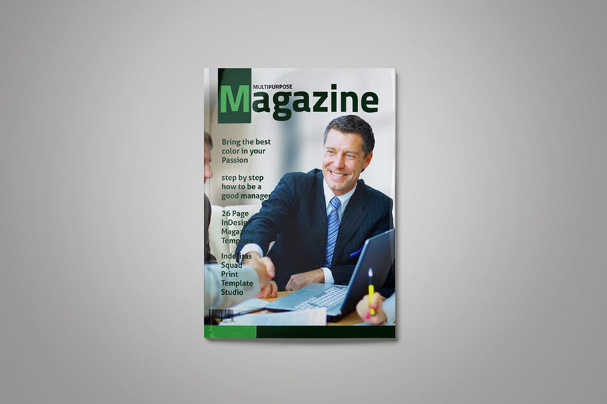 InDesign杂志模板