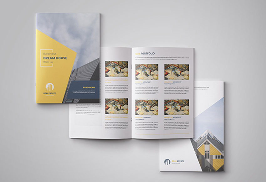 Real Estate Brochure InDesign Template