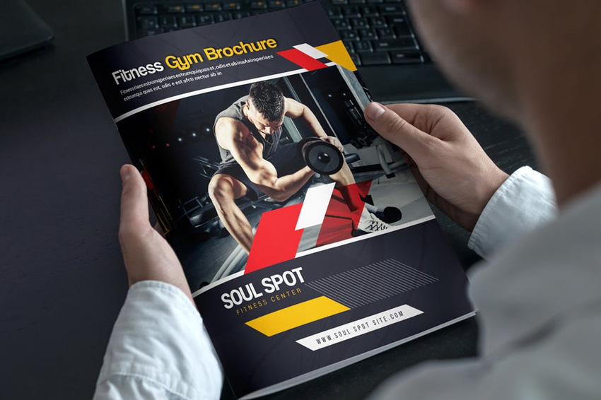 Gym Bifold Brochure