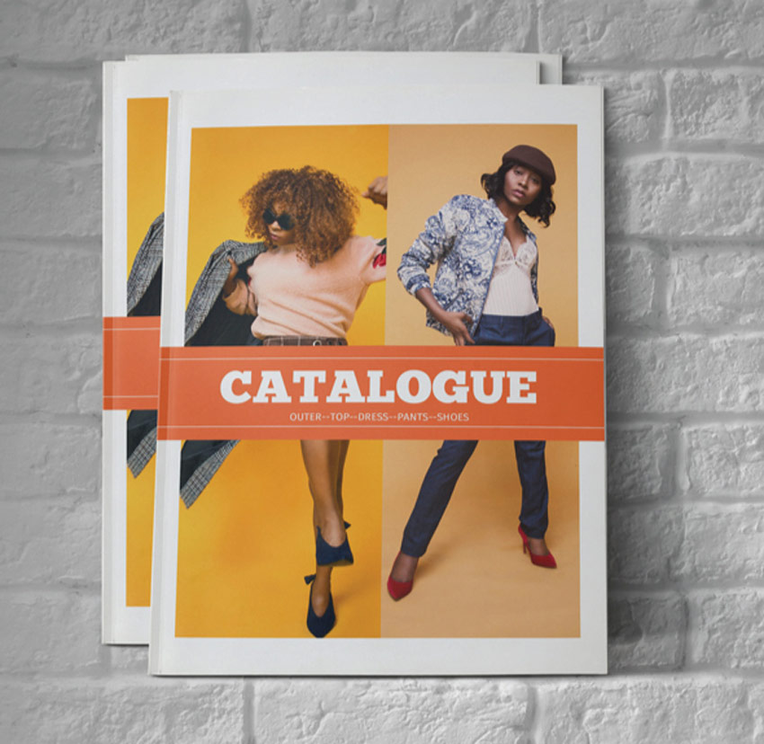 InDesign Fashion Catalog Template