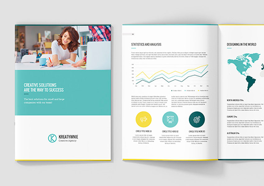 Creative Agency Profile Template