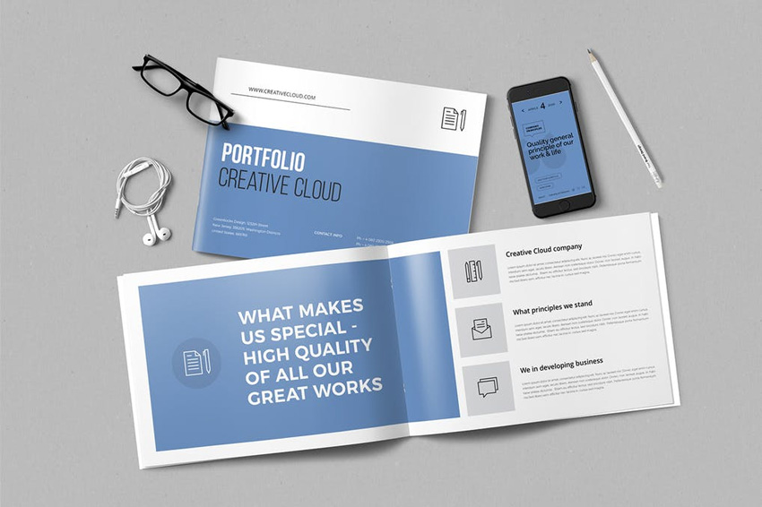 23 Creative Indesign Portfolio Templates Best For 2019