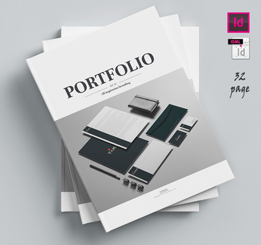 28 Creative Indesign Portfolio Templates Best For 2020,Wrist Name Tattoos Designs On Arm