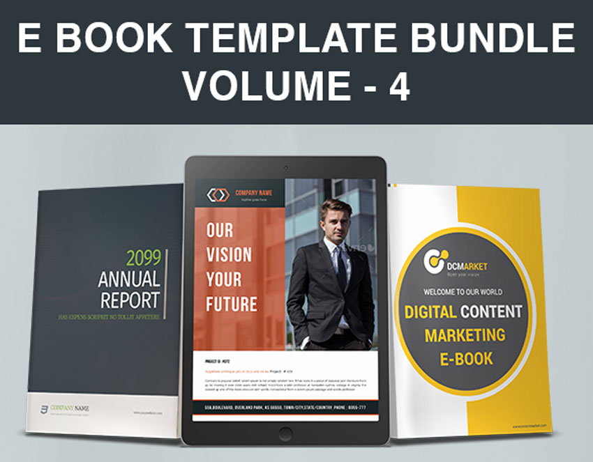 E Book Template Bundle