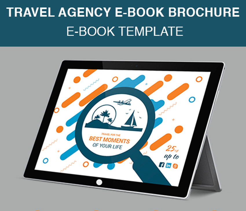 Travel Agency E-Book Brochure