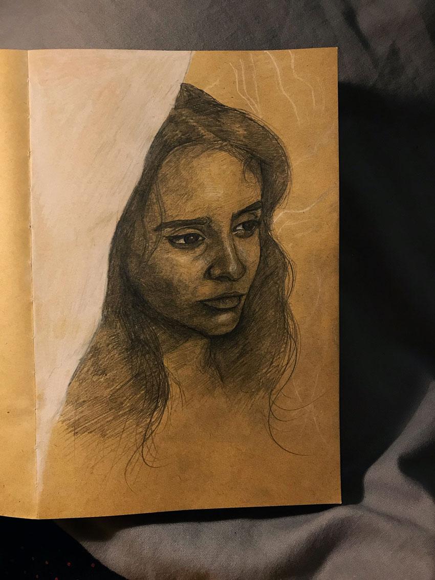 Pencil Portrait Sketches