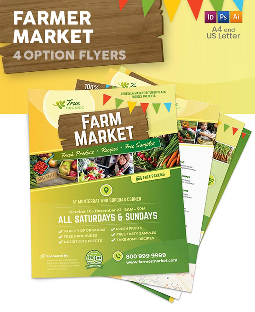 Farmer Market Flyers