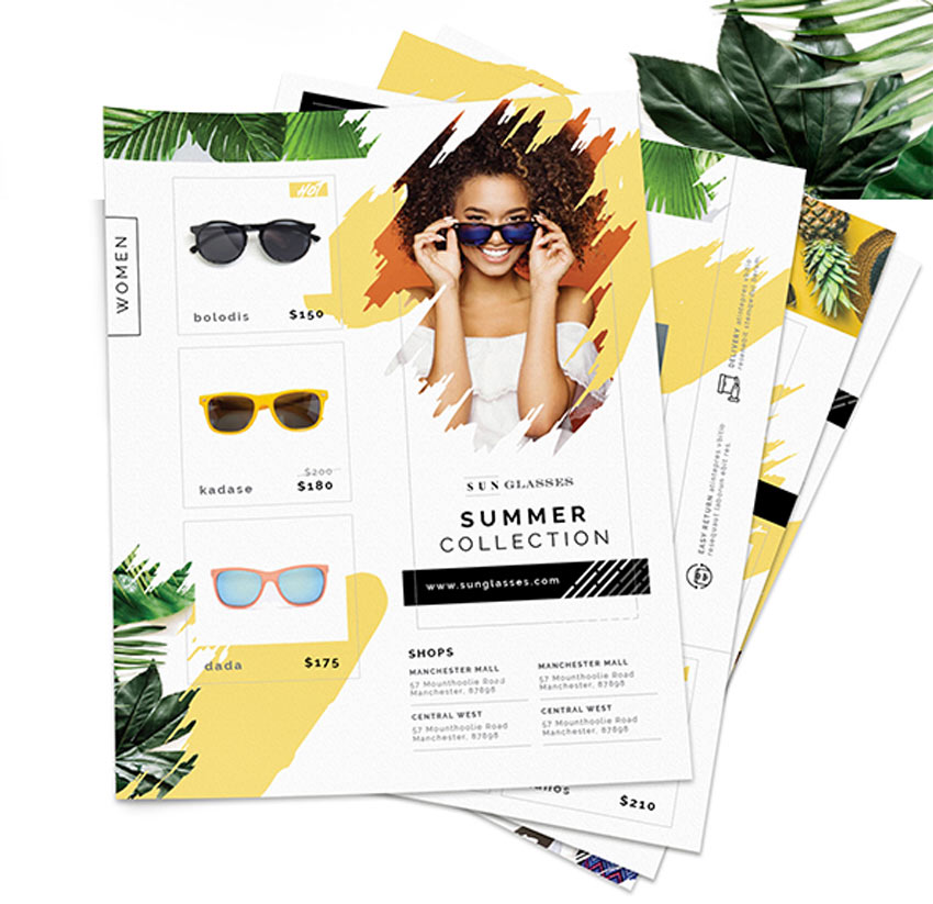 Sunglasses Store Flyers