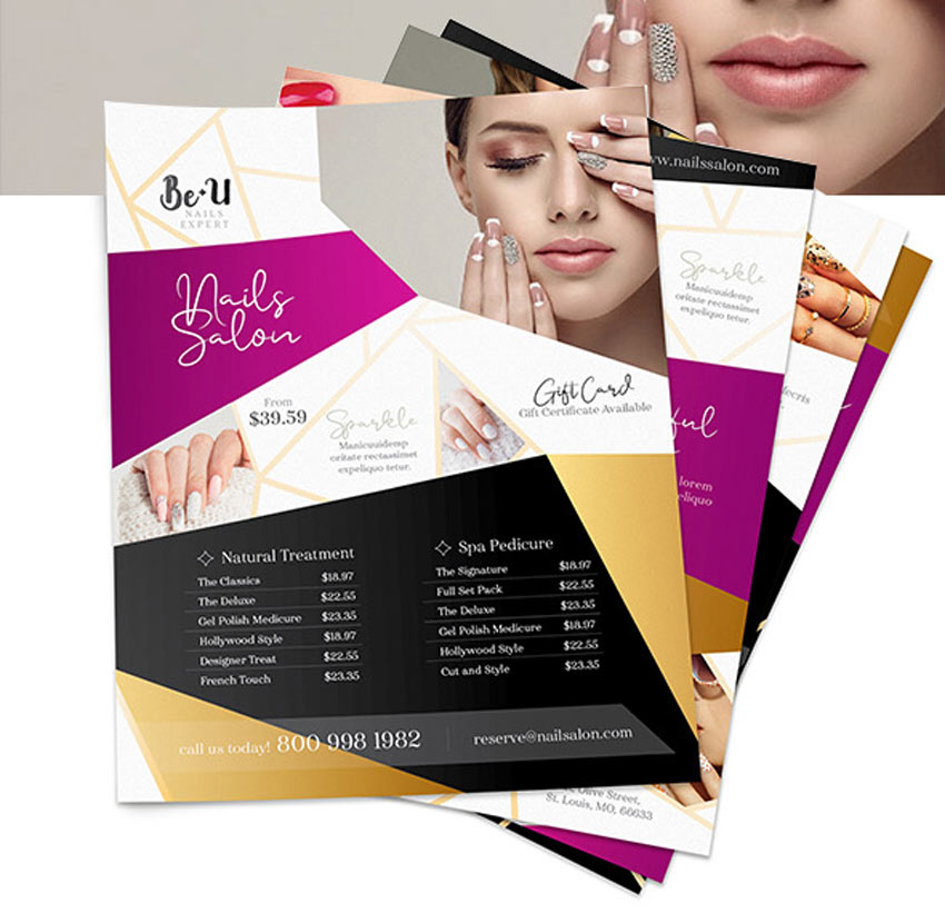 Nails Salon Flyers