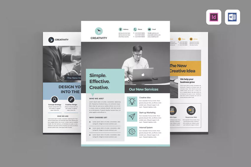 InDesign Flyers