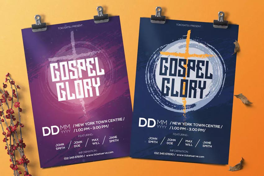 Gospel Music Flyer