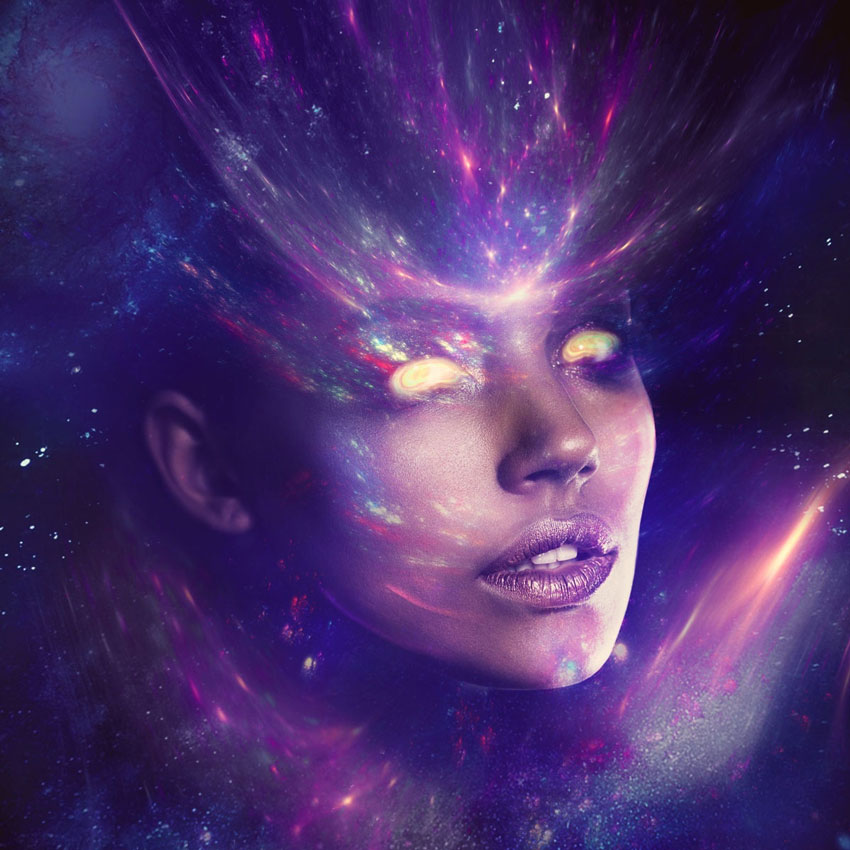 How to Create a Fantasy Sci-Fi Portrait Photo Manipulation in Adobe Photoshop