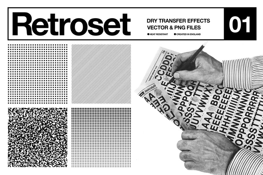 Retroset Halftone Pack