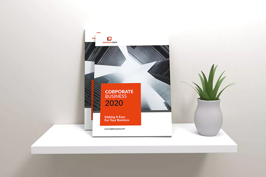 Business Corporate Brochure Template