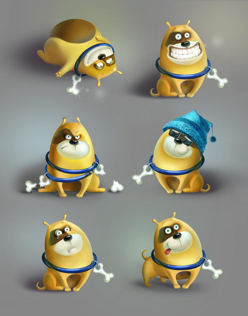 Jim Character Design