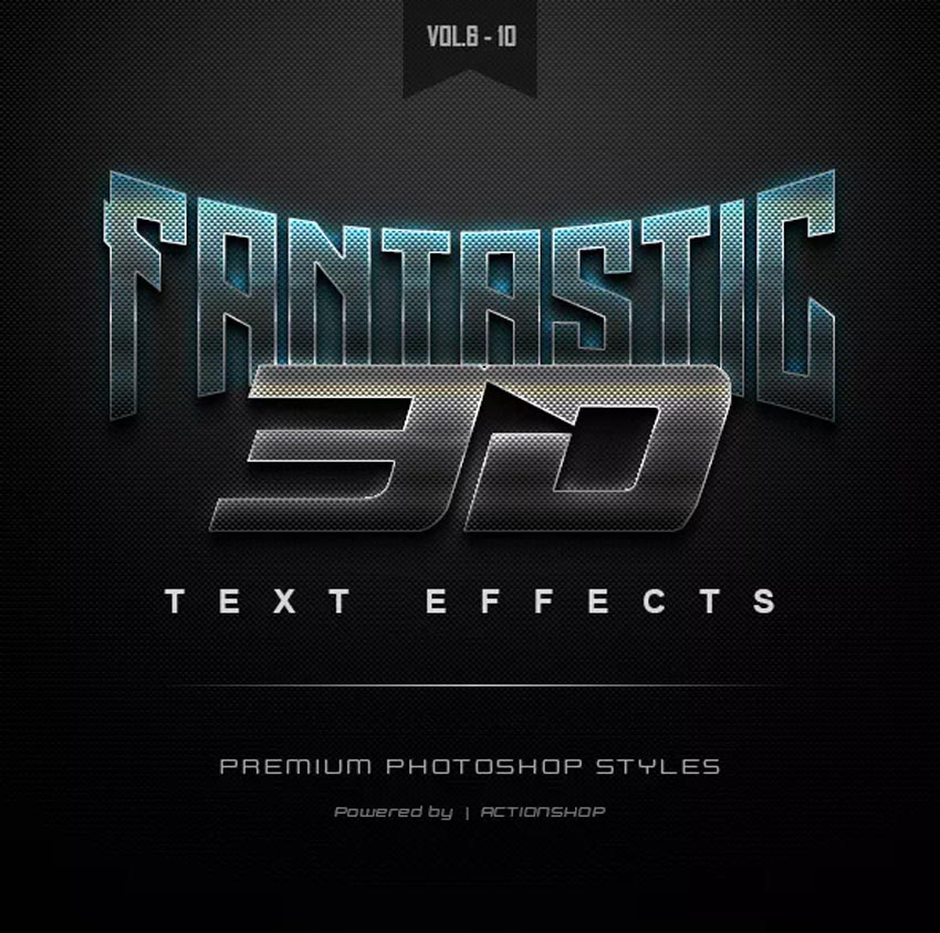 3D Text Effects Bundle