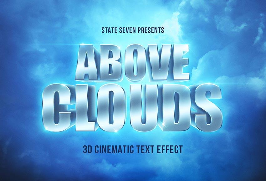 Cinematic 3D Text Effect