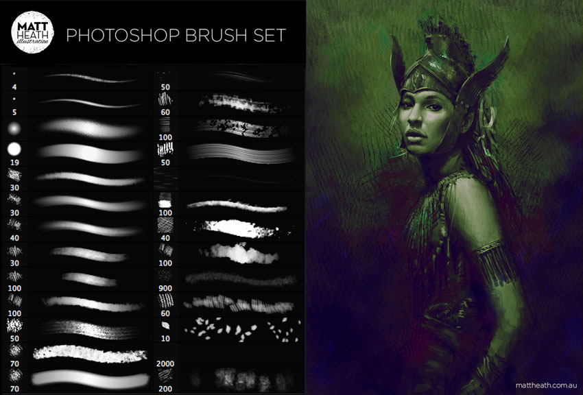 Photoshop Art Brush Set
