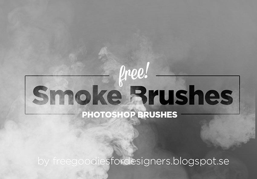 Smoke Photoshop Brushes