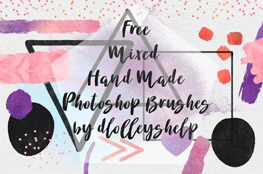 Free Handmade Photoshop Brushes
