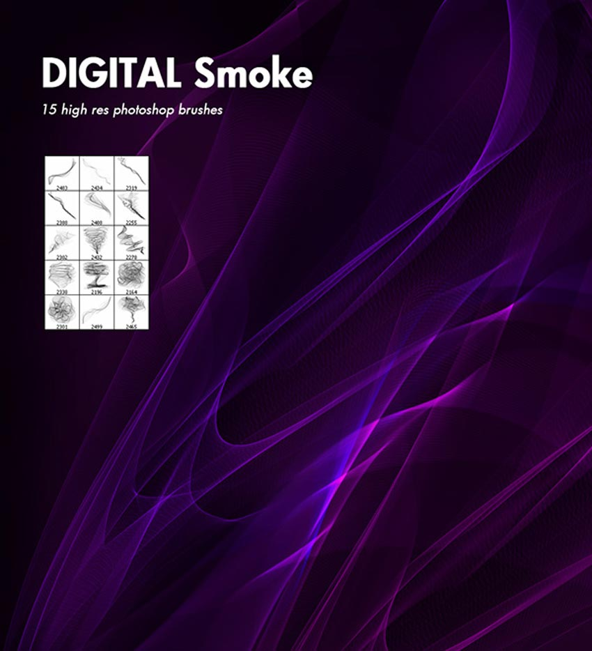 Digital Smoke Brushes