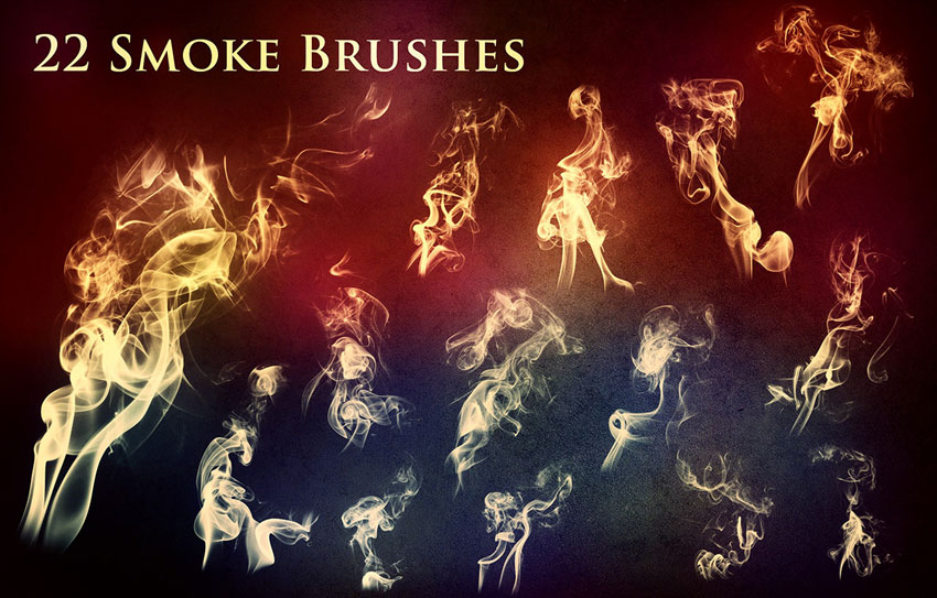 Smoke  Fire Brushes for Photoshop