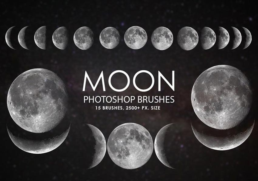 Moon Photoshop Brushes