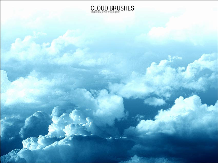 Cloud Brushes Photoshop