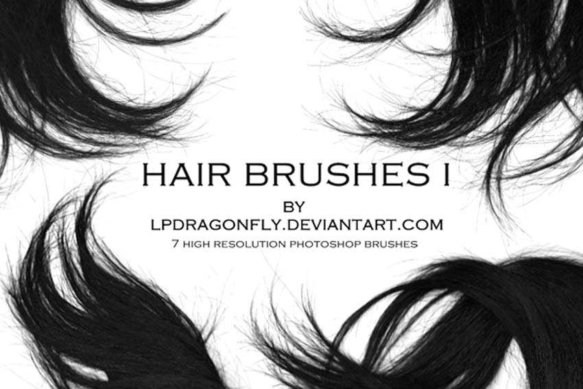 Free Hair Brushes Photoshop