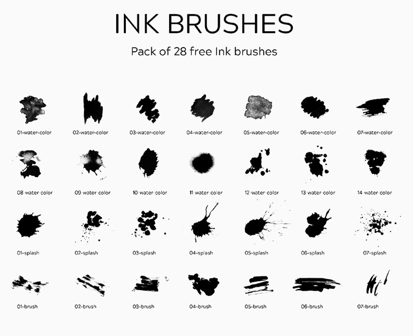 50+ Free Photoshop Brushes to Download Now!