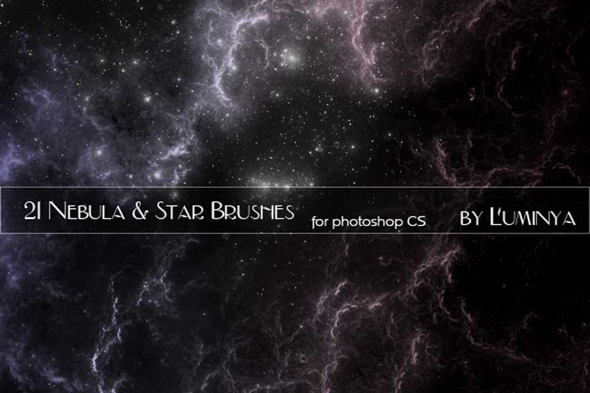 Nebula and Stars Brushes