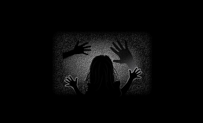 How to Create a Poltergeist TV Silhouette Scene in Adobe Illustrator