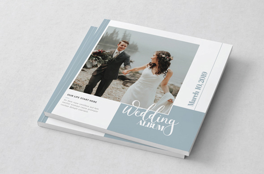 Wedding Album InDesign Template