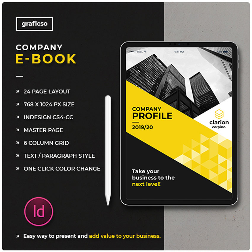 InDesign Ebook Template