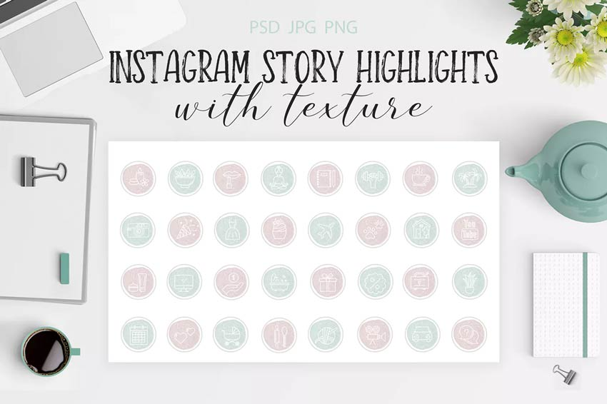Highlight Icons for Instagram