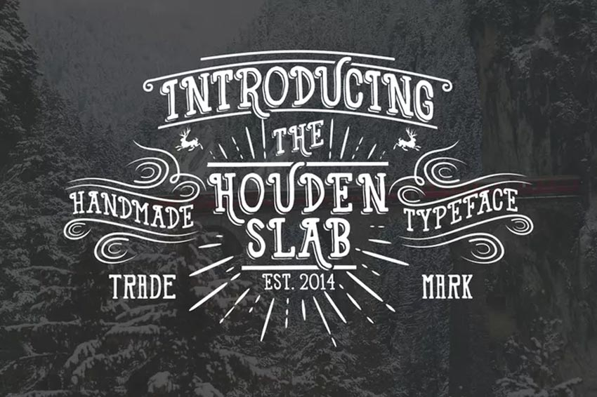 Houden Chalk Font