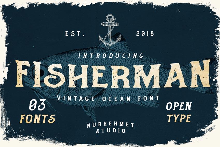 Fisherman Chalkboard Font