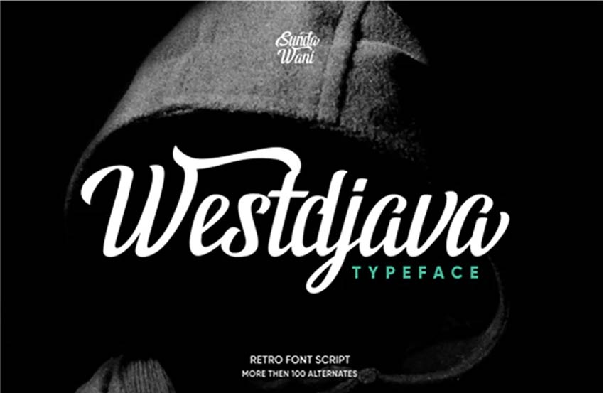 Westdjava Jersey Font