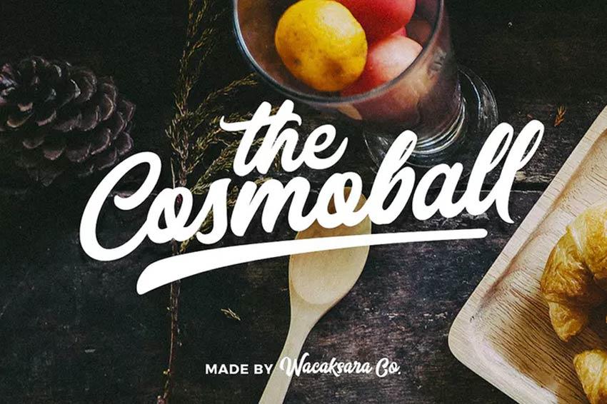 Cosmoball Baseball Font