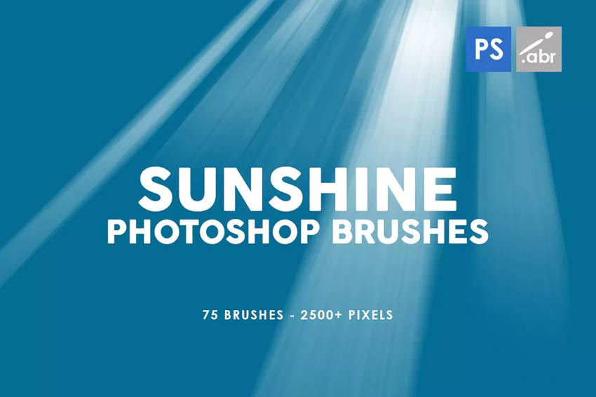 75 Sunshine Photoshop Stamp Brushes