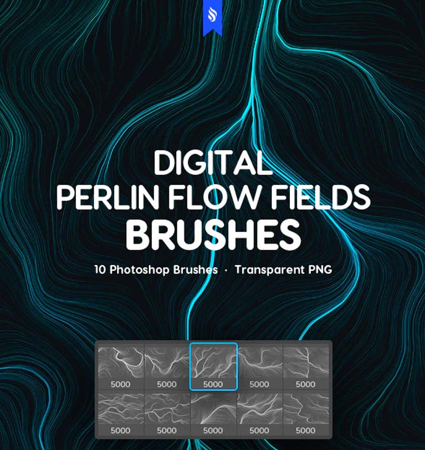Futuristic Light Photoshop Brushes