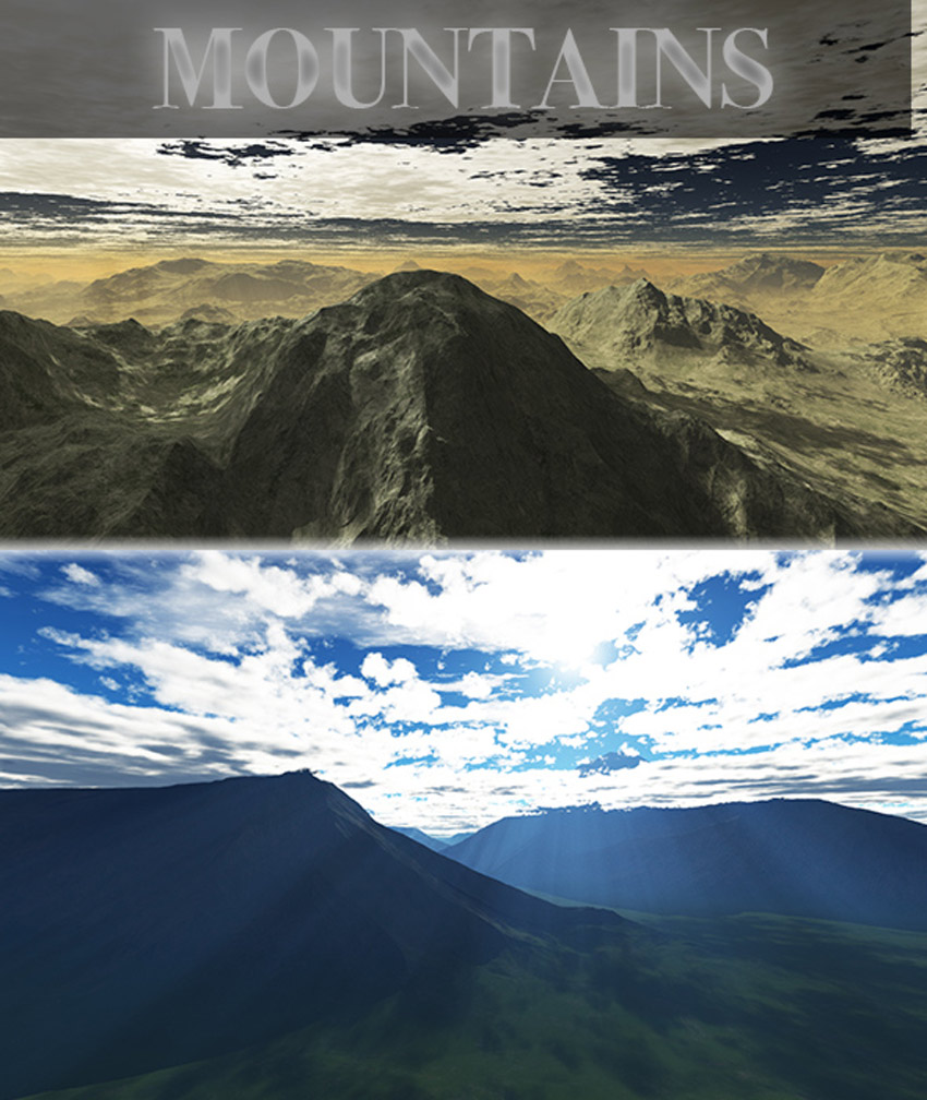 Mountains HD Skybox Pack