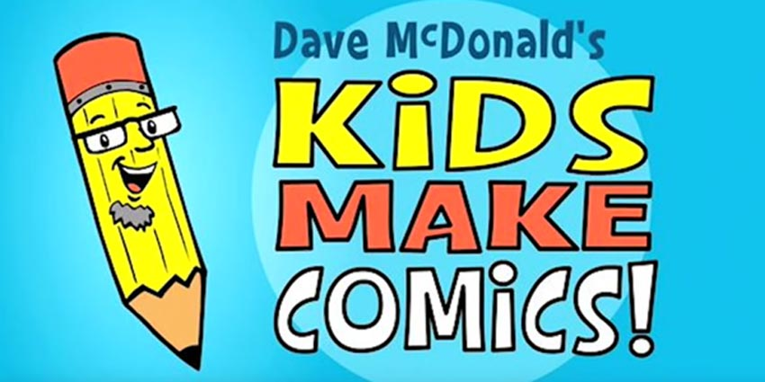 Kids Make Comics1 Simple Shapes make Super Characters