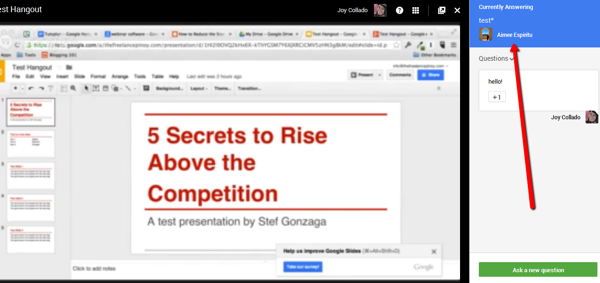 Create and Host a Webinar for Free Using Google+ Hangouts